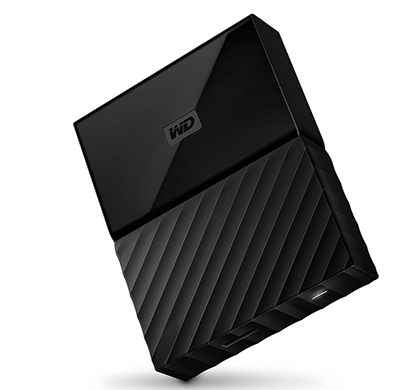 WD My Passport 2TB USB 3.0 Portable External Hard Drive (Black)